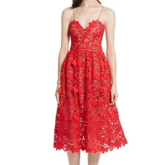 17e232aa4587 Self-Portrait Dresses | Selfportrait 3d Floral Azalea Dress | Poshmark